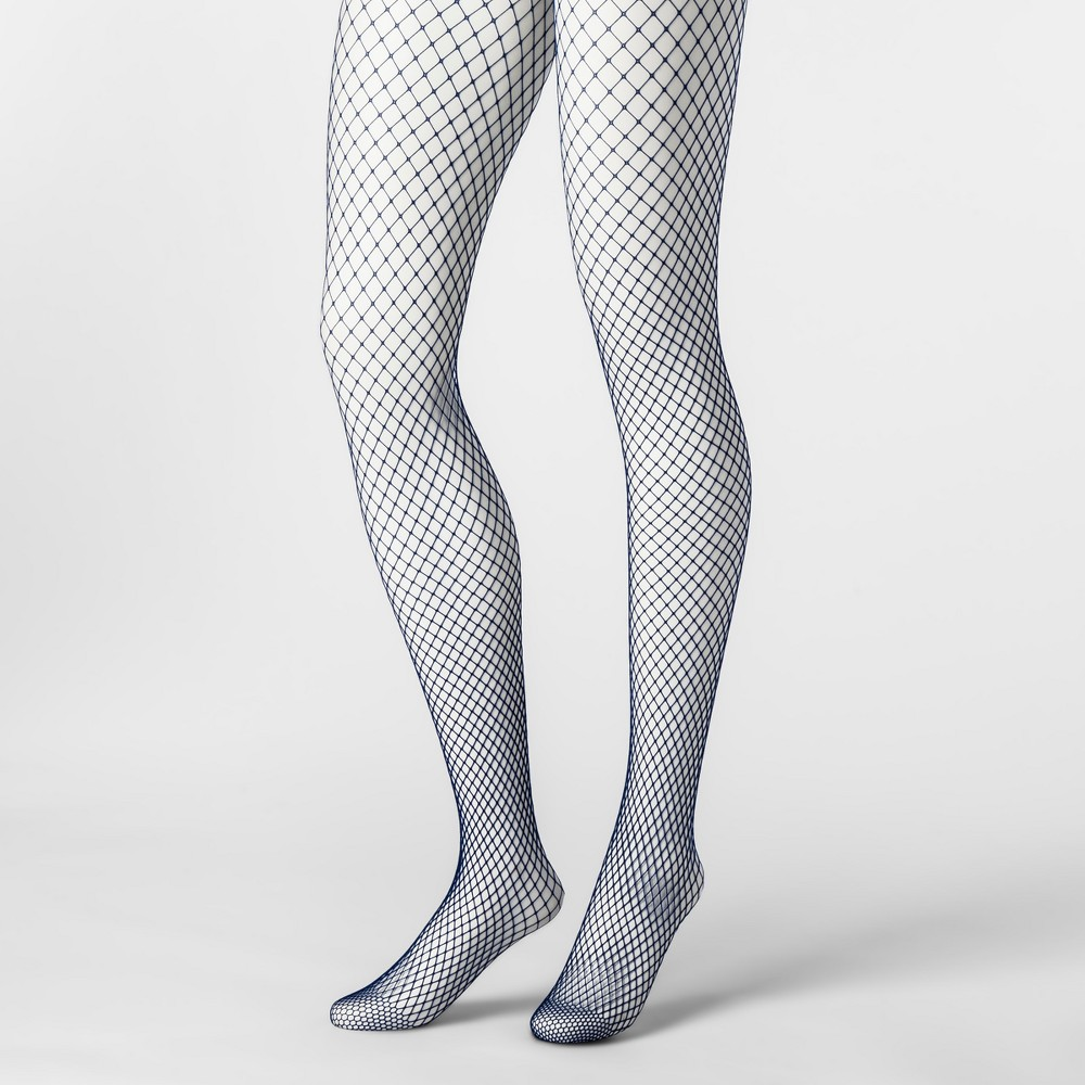 Womens Plus Size Tights - Xhilaration Symphony Blue 1X