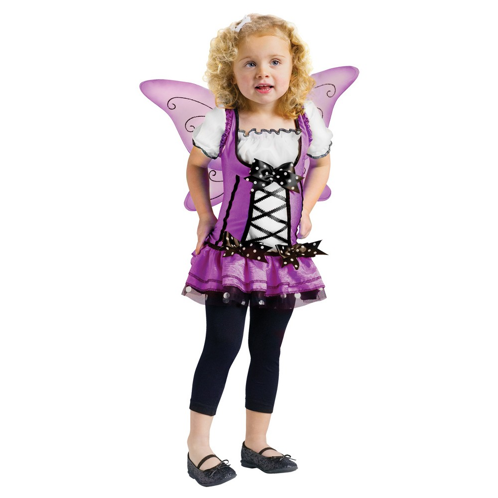 Girls Lilac Fairy Toddler Costume 3t-4t, Size: 3T/4T, Multi-Colored
