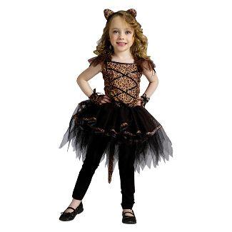 girls ballerina leopard toddler costume 24m 2t - Halloween Ballet Costumes