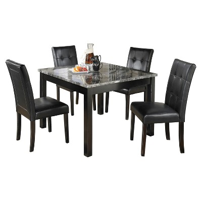 Dining Table Set Black - Signature Design by Ashley