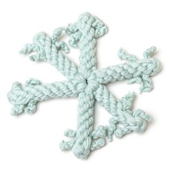 Wit & Delight Snowflake Rope Toy Dog Costume Accessories