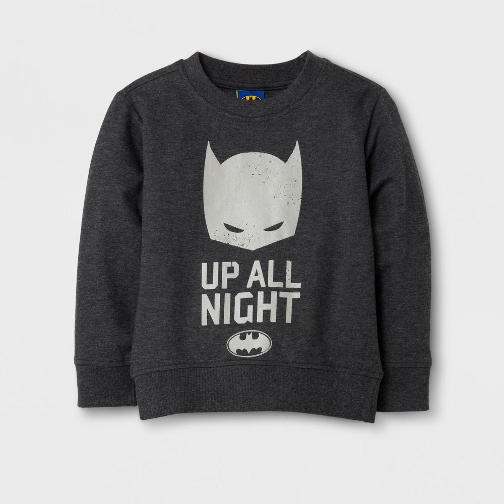 Sweatshirts Batman Gray 2T, Mens