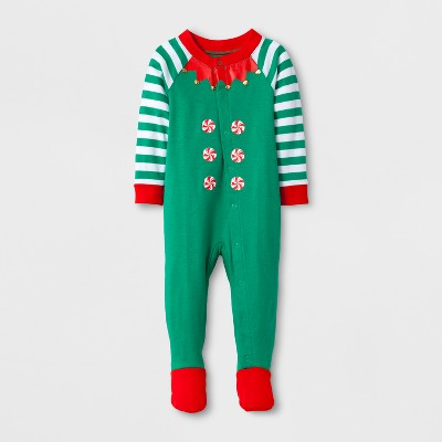Kids Footed Sleepers - Wondershop™ Green M (3-6)