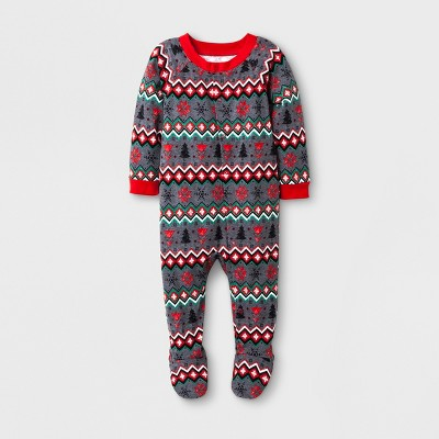 Kids Footed Sleepers - Wondershop™ Heather Gray M