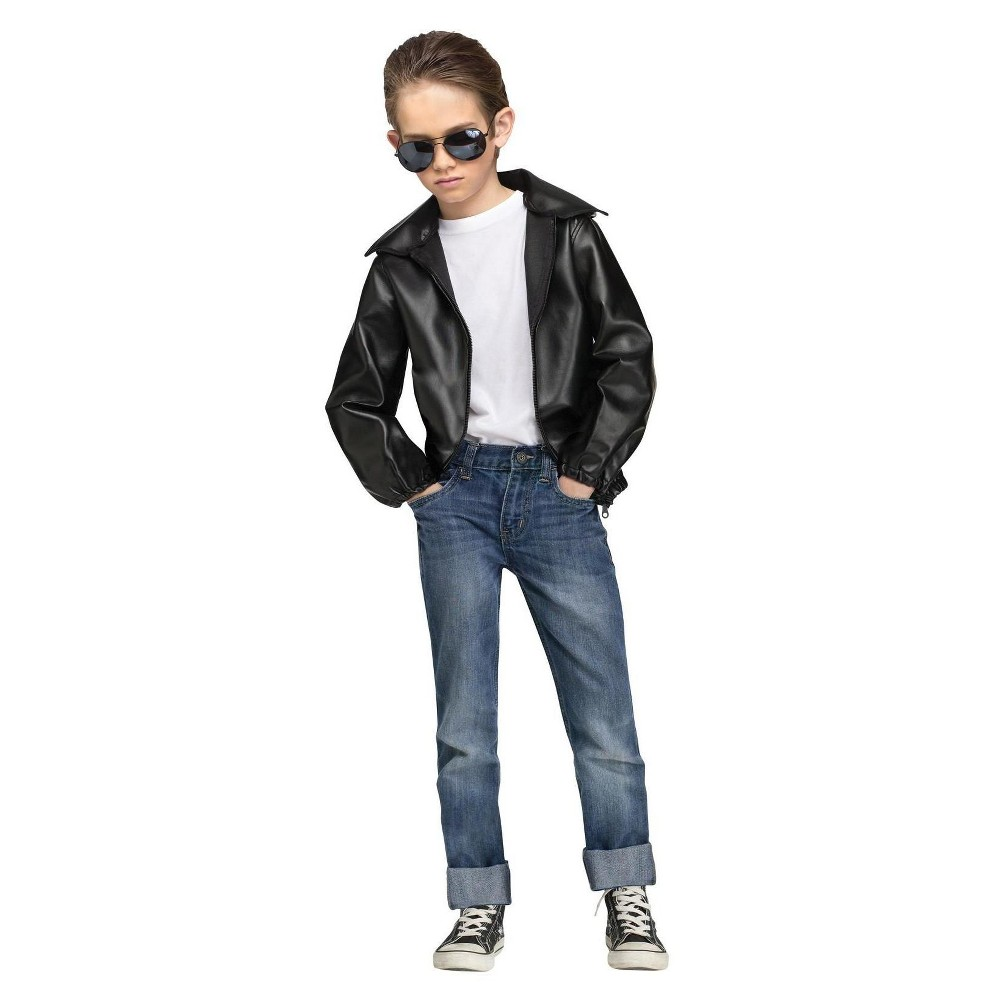 Boys Rock n Roll 50s Costume Jacket - XL, Size: Small, Multicolored