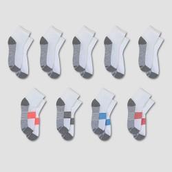 Kids' Hanes Premium® Kids' Ankle Socks 8pk +1 Bonus - White