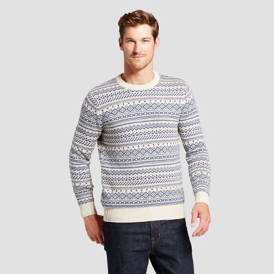 view Men's Fairisle Sweater - Goodfellow & Co on target.com. Opens in a new tab.