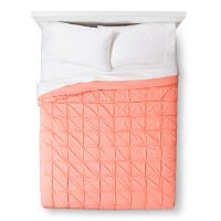 Peach Jersey Quilt (Full/Queen) - Room Essentials. opens in a new tab.