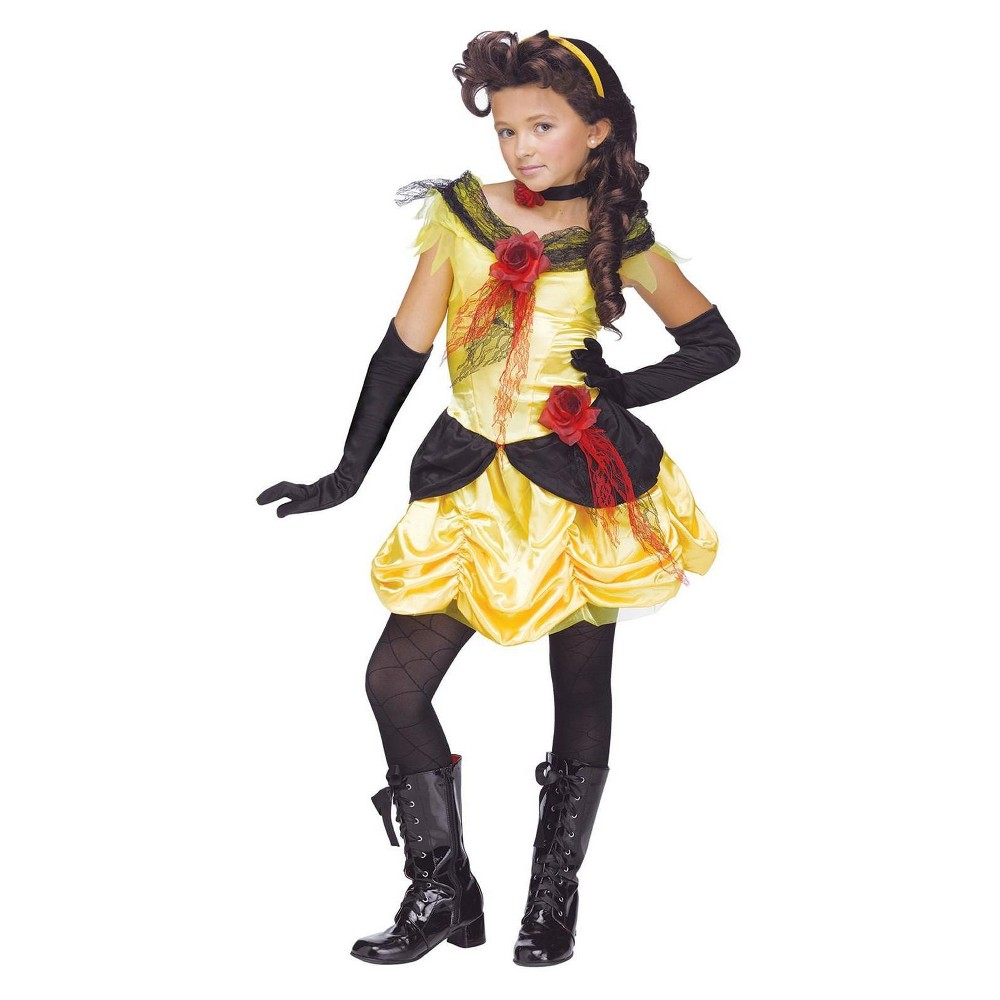 Fun World Girls Gothic Beauty Costume L, Multicolored