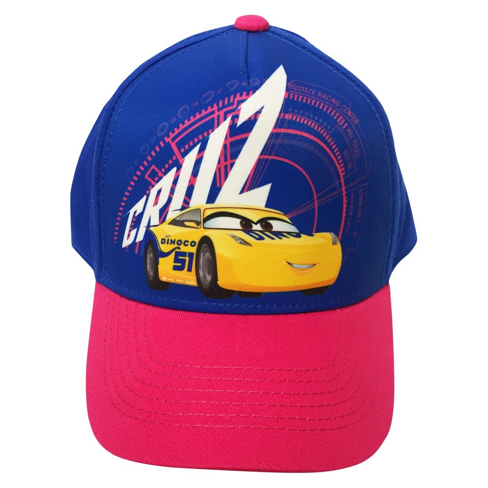 Cars Girls Cars Baseball Hat - Purple One Size