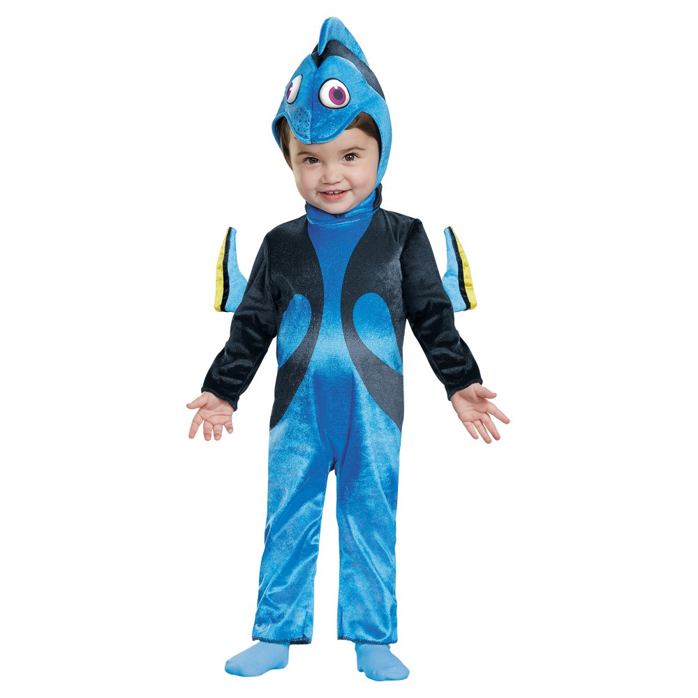 Girls Dory Costume Infant 12-18, Size: 12-18 M, Multi-Colored