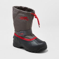 Toddler Boys' Arctic Cat Snowshower Winter Boots - Gray