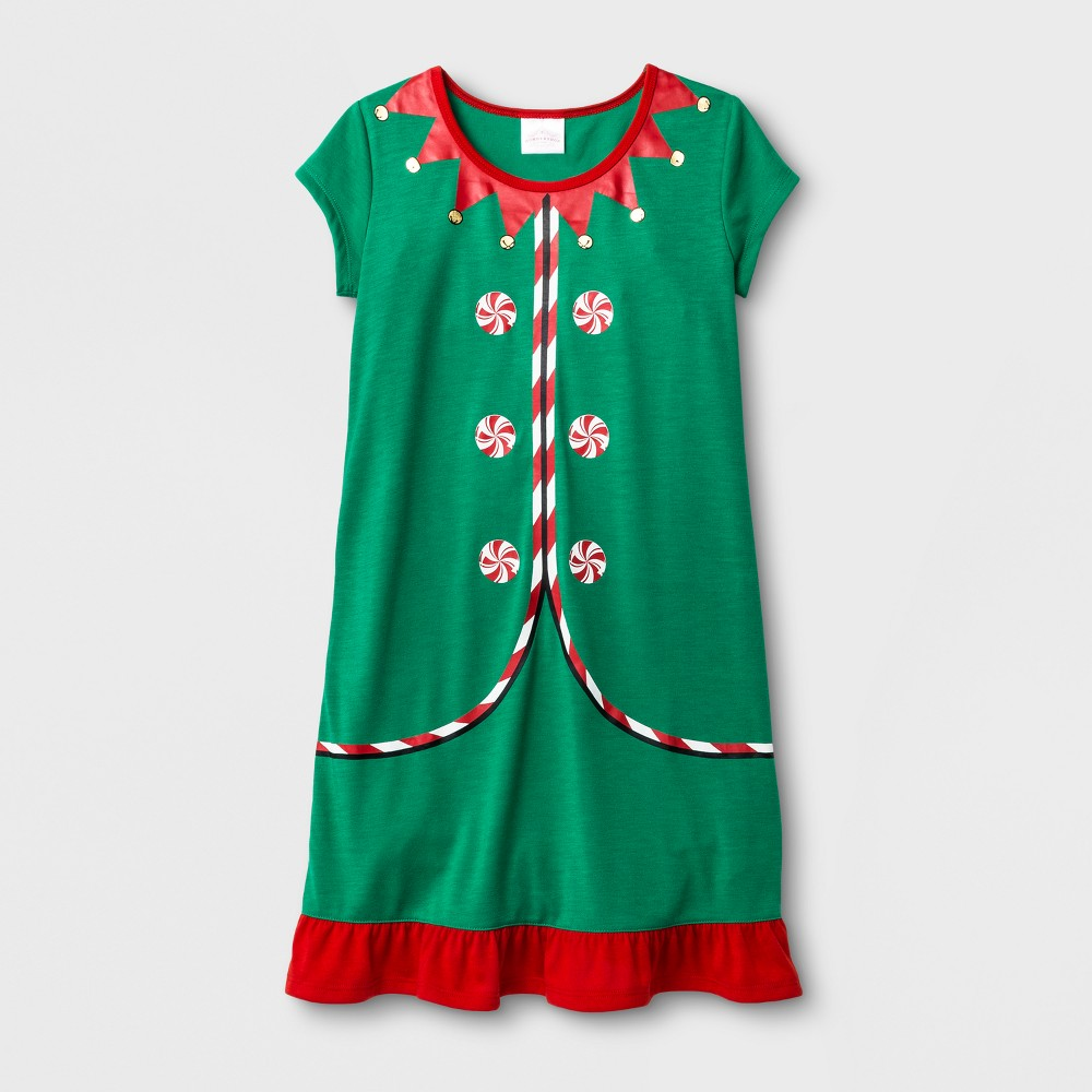 Girls Growing Nightgowns - Wondershop Green 10