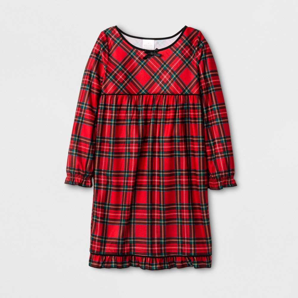 Girls Nightgowns - Wondershop Red 4, Orange