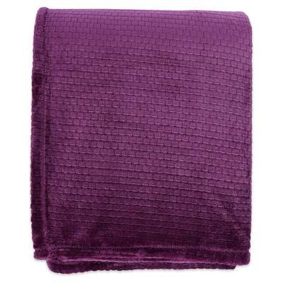 Bed Blankets Better Living TWIN Black Berry