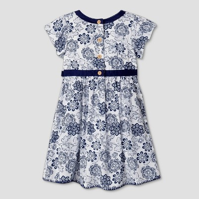 Toddler Girls' A Line Dress - Genuine Kids™ from OshKosh® Almond Cream 2T