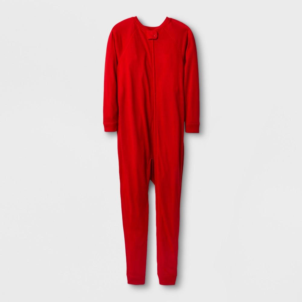 Girls Adaptive Full Body Sleepwear - Cat & Jack Wowzer Red 14