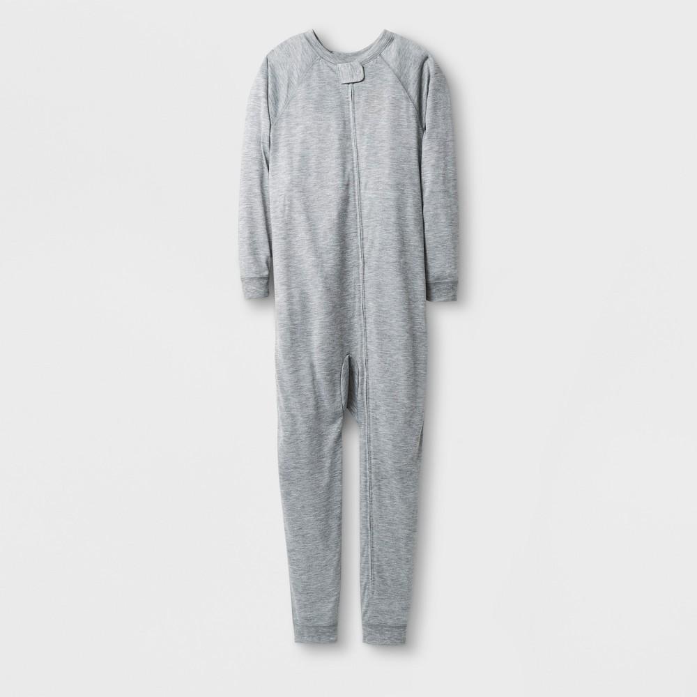 Girls Sensory Friendly Full Body Sleepwear - Cat & Jack Heather Gray 14