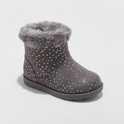 Toddler Girls'  Darby Fleece Ankle Fashion Boots  Cat & Jack™