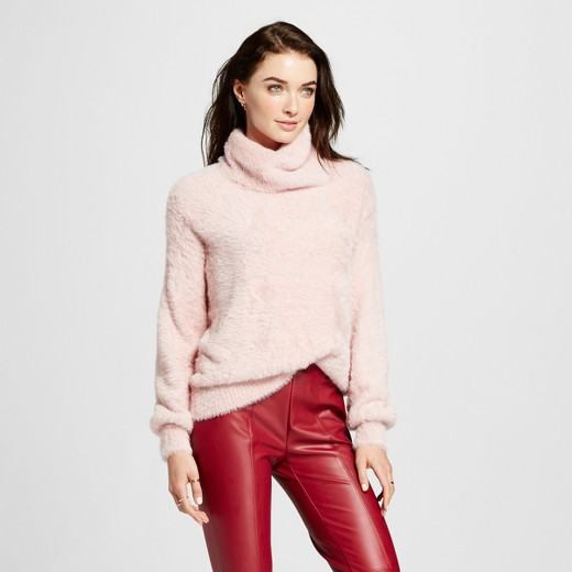 Women's Soft Slouchy Turtleneck - Who What Wear™ Pink M : Target