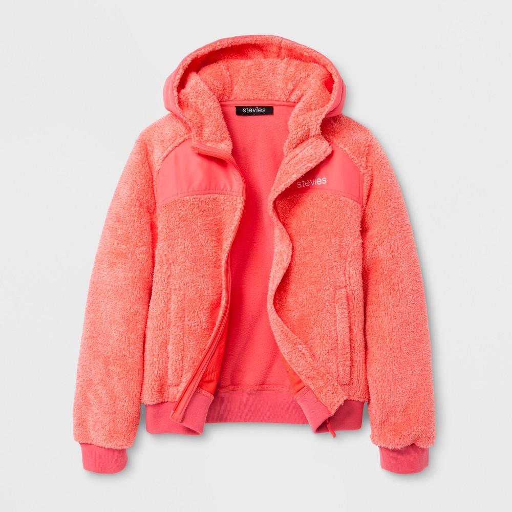 Stevies Girls Fleece Jacket - Pink XL
