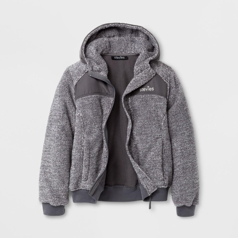 Stevies Girls Fleece Jacket - Gray S