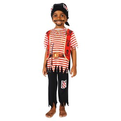 Kids' Printed Pirate Matey Costume