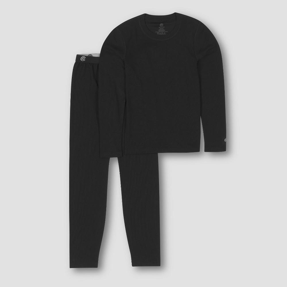 Girls Thermal Polyester Underwear - C9 Champion Black S
