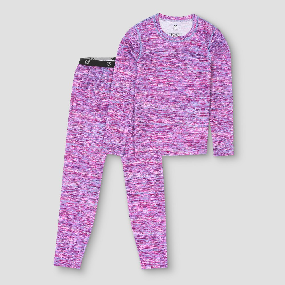 Girls Thermal Polyester Underwear - C9 Champion Pink M