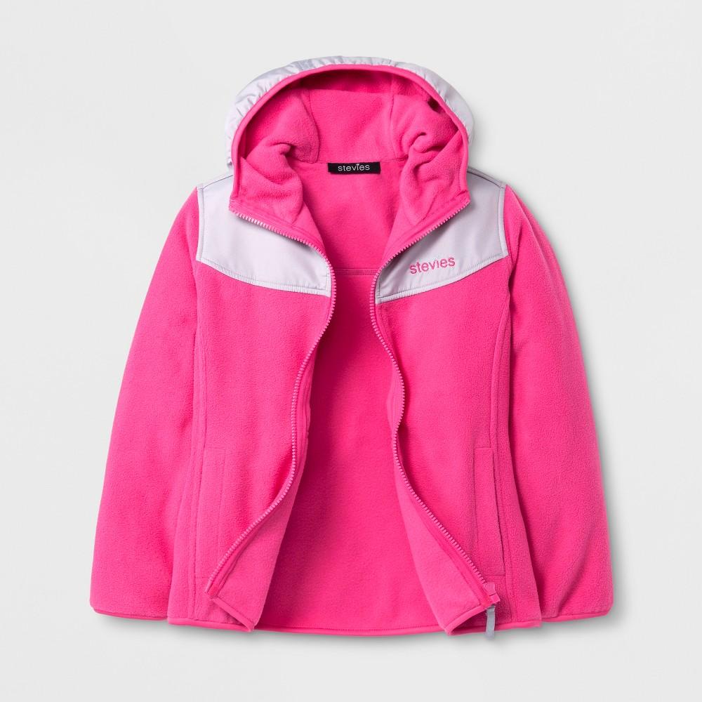 Stevies Girls Fleece Jacket - Pink M