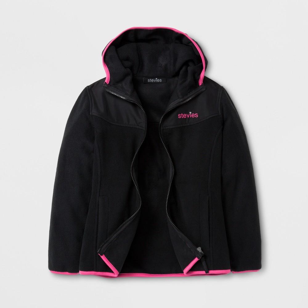 Stevies Girls' Fleece Jacket - Black S
