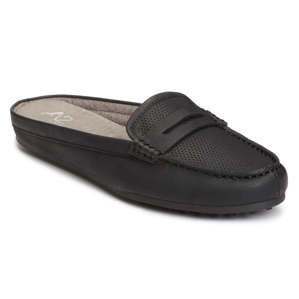 Womens A2 by Aerosoles Drive Time Mules - Black 6.5