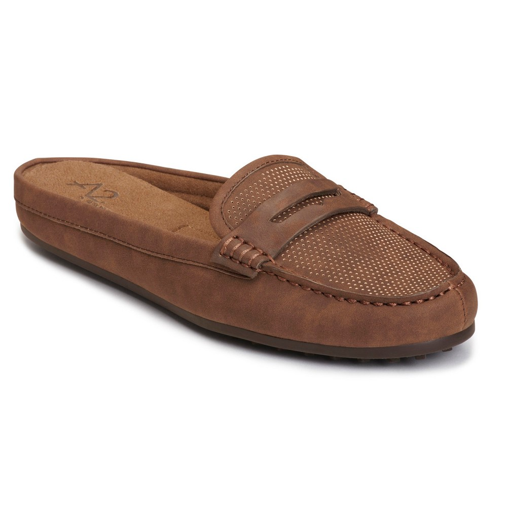 Womens A2 by Aerosoles Drive Time Mules - Brown 10.5