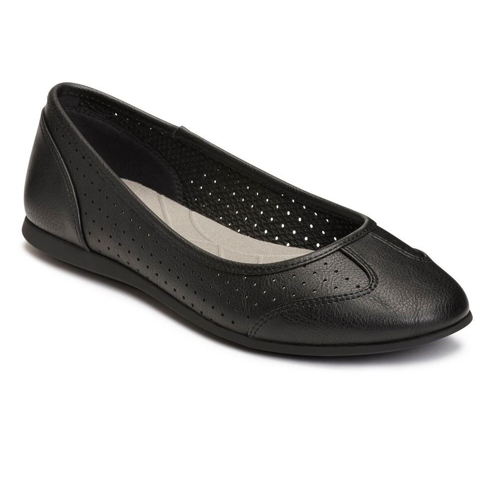 Womens A2 by Aerosoles Papaya Ballet Flats - Black 8.5