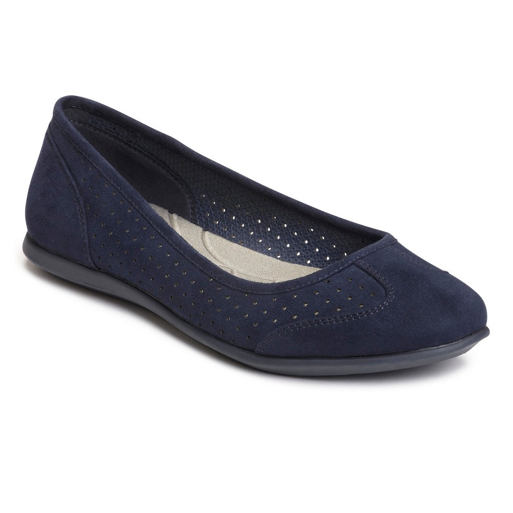 Womens A2 by Aerosoles Papaya Ballet Flats - Navy (Blue) 9