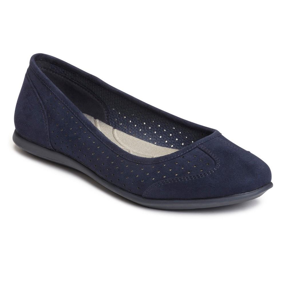 Womens A2 by Aerosoles Papaya Ballet Flats - Navy (Blue) 12