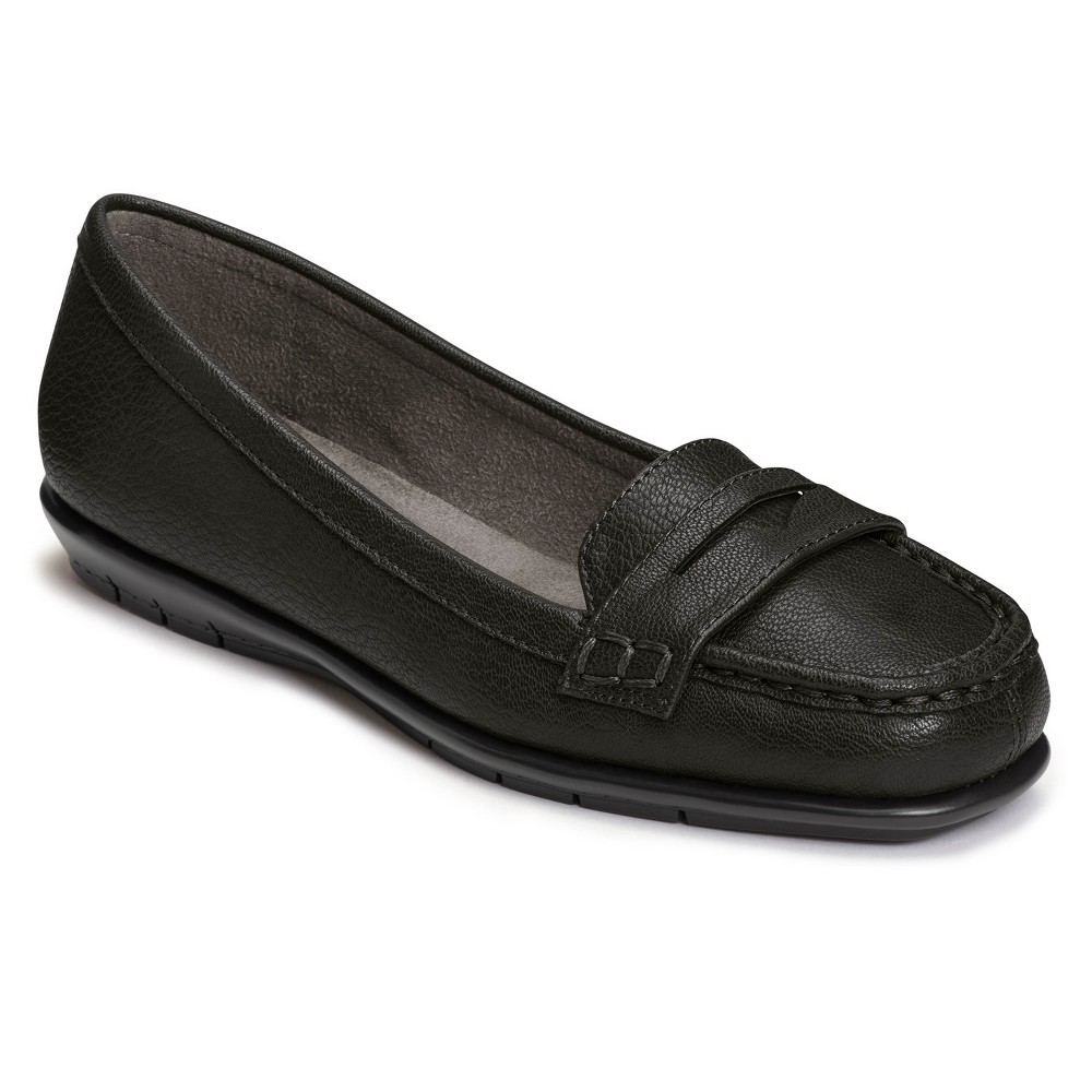 Women's A2 by Aerosoles Sandbar Loafers - Black 7.5