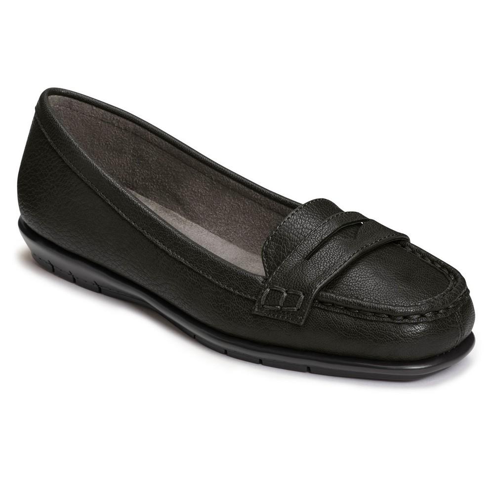 Womens A2 by Aerosoles Sandbar Loafers - Black 8.5