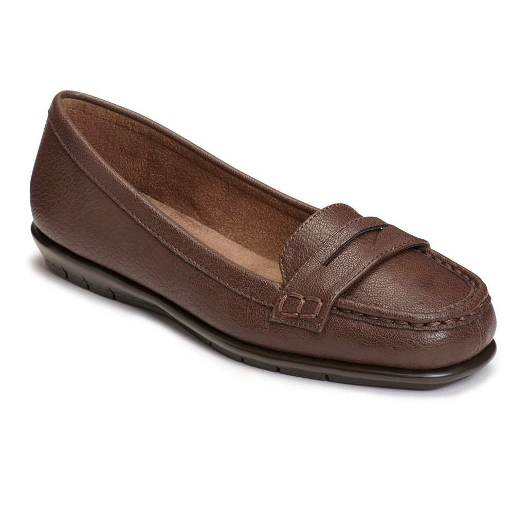Womens A2 by Aerosoles Sandbar Loafers - Brown 12