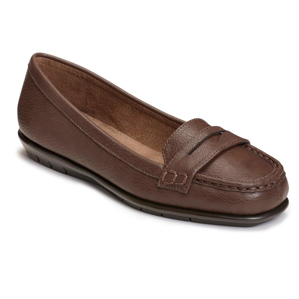 Womens A2 by Aerosoles Sandbar Loafers - Brown 9