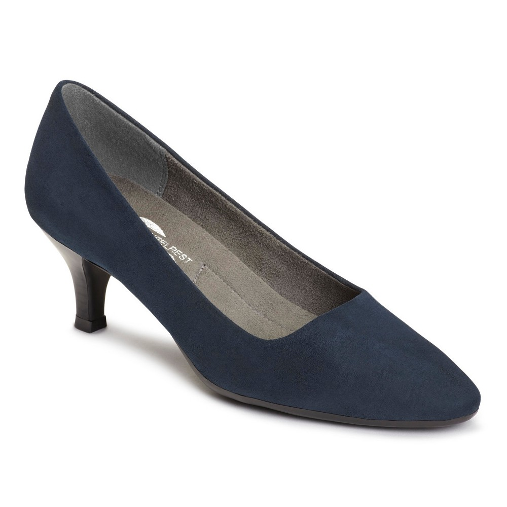 Womens A2 by Aerosoles Foreward Pumps - Navy (Blue) 12