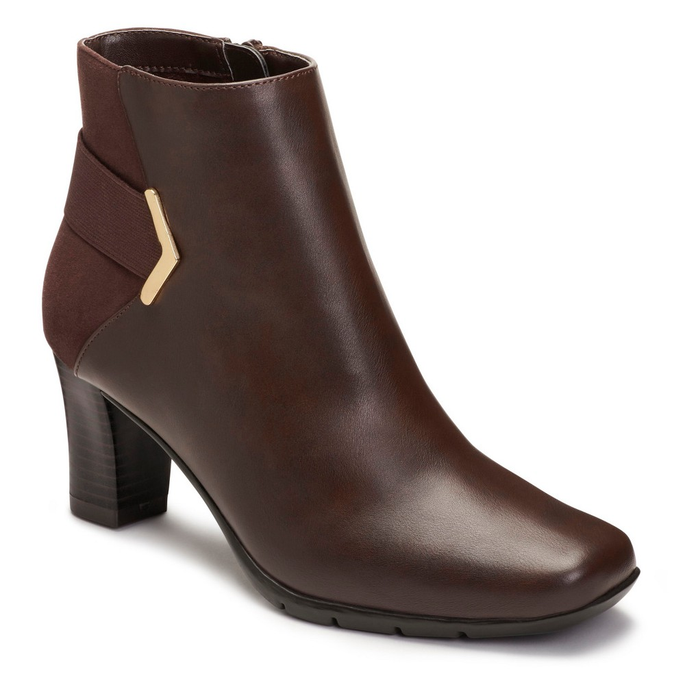 Womens A2 by Aerosoles Moneuver Booties - Brown 6.5