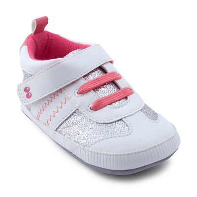 Baby Girls' Surprize by Stride Rite Alice Sneaker Mini Shoes - White 18-24M