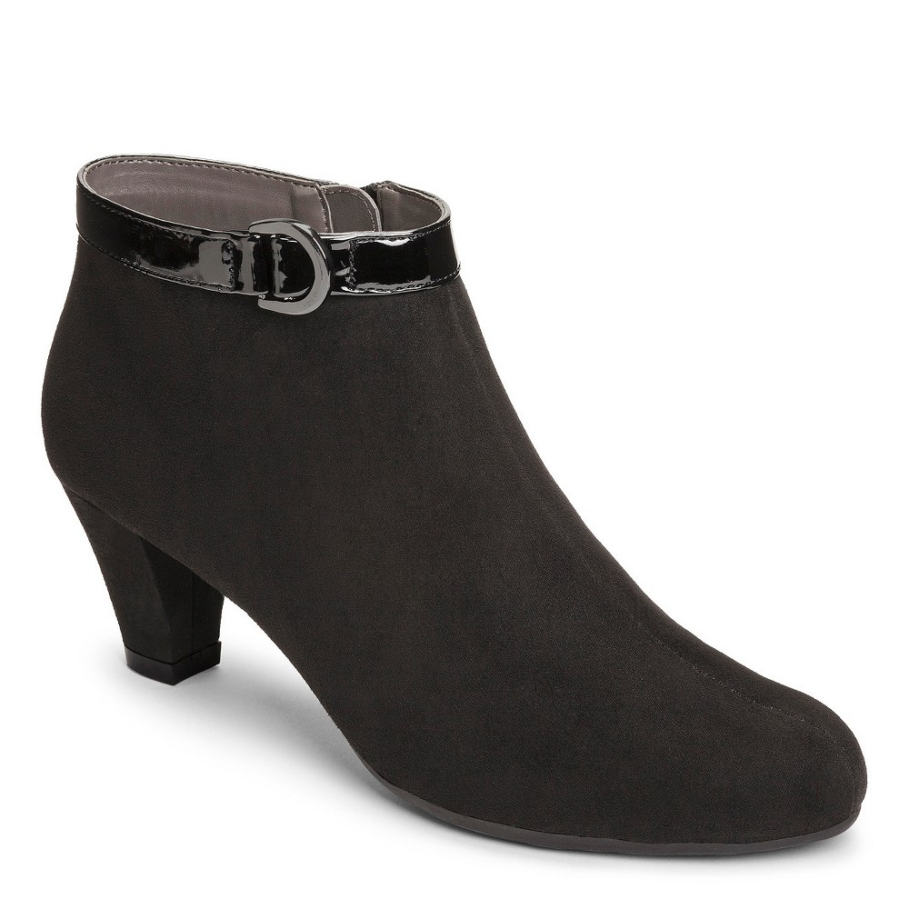 Womens A2 by Aerosoles Shore Enough Booties - Black 6.5