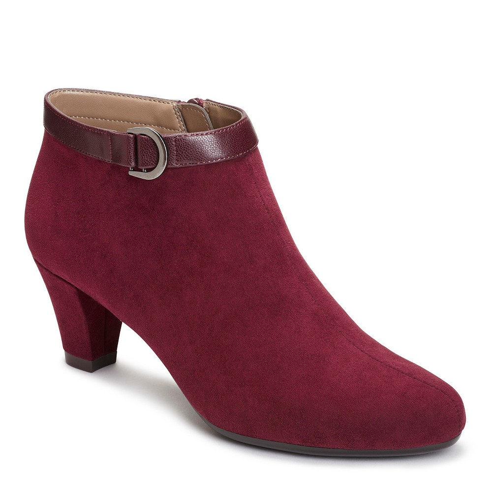 Womens A2 by Aerosoles Shore Enough Booties - Wine (Red) 7.5