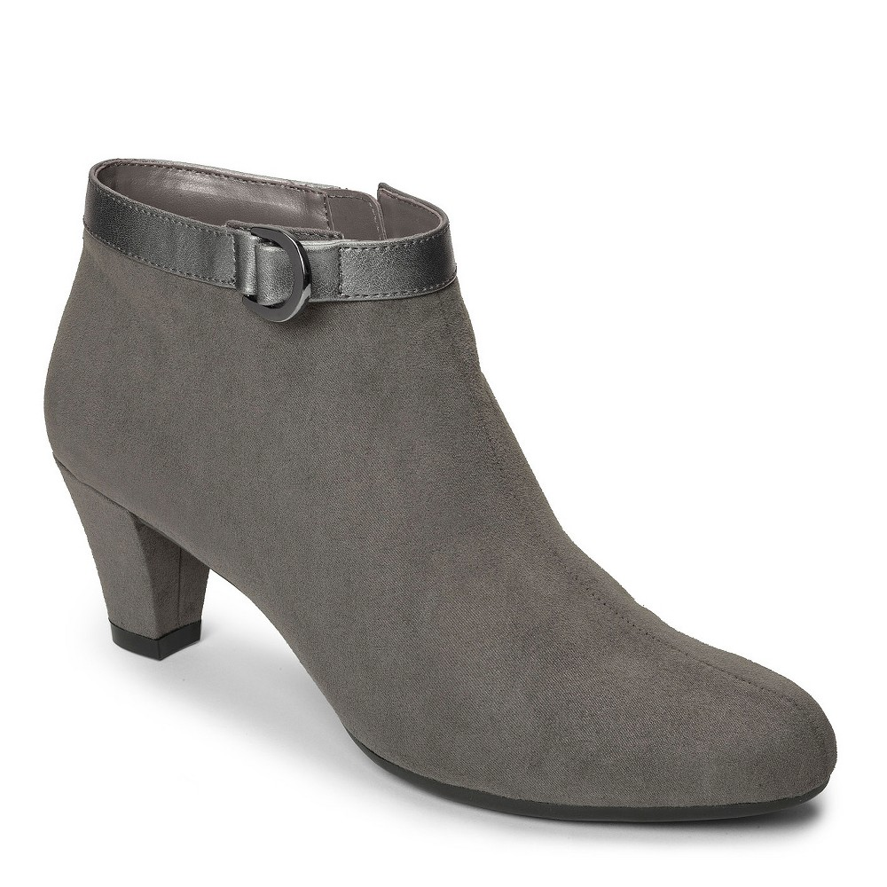 Womens A2 by Aerosoles Shore Enough Booties - Gray 7.5