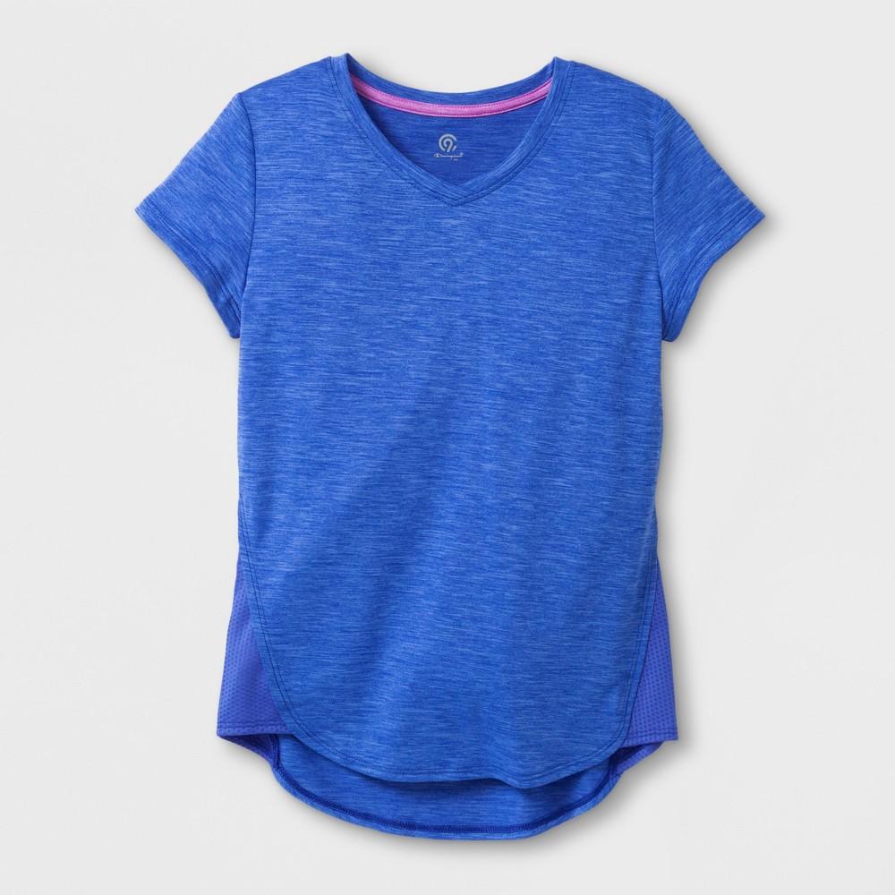 Girls' T-Shirt - C9 Champion Heather Blue M