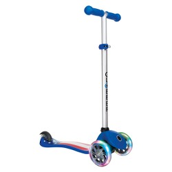 Globber Primo Fantasy 3 Wheel Adjustable Height Scooter with LED Light Up Wheels