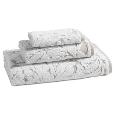 Foglia Hand Towel Taupe - Kassatex®