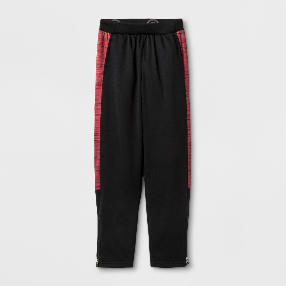 Boys' Cozy Tech Fleece Jogger Pants - C9 Champion Red M, Black/Red